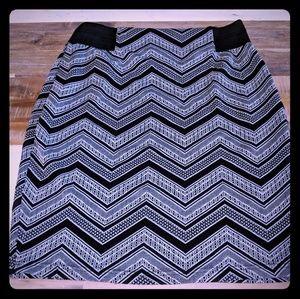 Mairices flattering midi pencil skirt